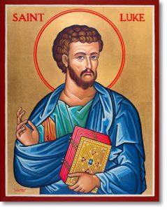 October Saint-St Luke